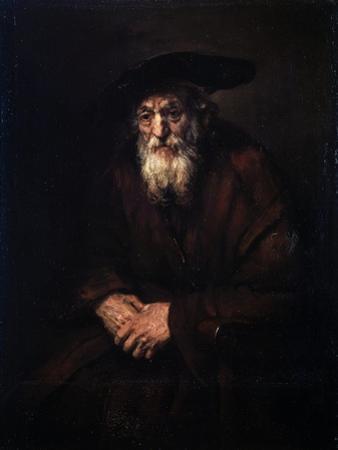 Portrait of an Old Jew, 1654 by Rembrandt van Rijn