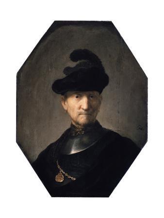 Portrait of an Old Warrior, C1629-1630 by Rembrandt van Rijn