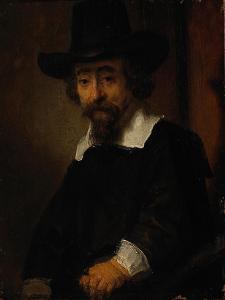 Portrait of Ephraim Bueno by Rembrandt van Rijn