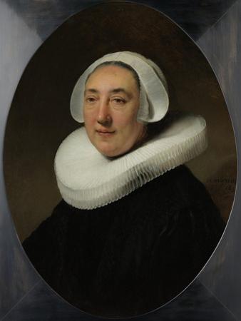 Portrait of Haesje Jacobsdr van Cleyburg, 1634 by Rembrandt van Rijn