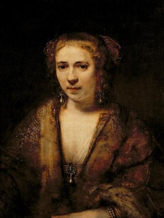 Portrait of Hendrikje Stoffels by Rembrandt van Rijn