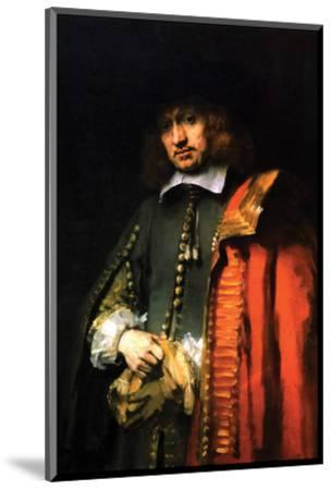 Portrait of Jan Six by Rembrandt van Rijn