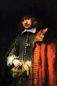 Portrait of Jan Six by Rembrandt van Rijn