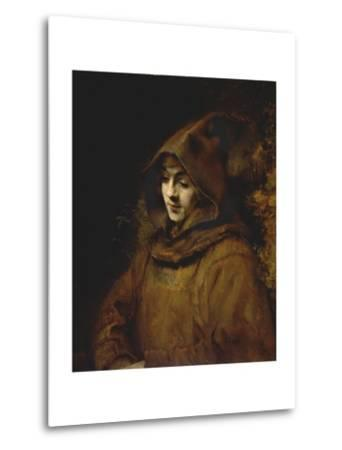 Portrait of Rembrandt's Son Titus, Dressed as a Monk