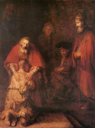 Prodigal Son by Rembrandt van Rijn