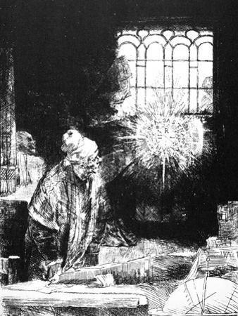 Rembrandt: Faust, 1652 by Rembrandt van Rijn
