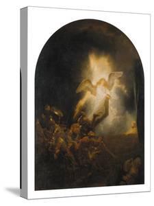 Resurrection of Jesus, 1639 by Rembrandt van Rijn