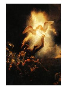 Resurrection by Rembrandt van Rijn