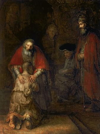 Return of the Prodigal Son, c. 1669