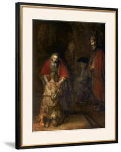 Return of the Prodigal Son, circa 1668-69 by Rembrandt van Rijn