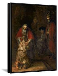Return of the Prodigal Son, circa 1668-69 by Rembrandt van Rijn