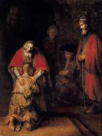 Return of the Prodigal Son by Rembrandt van Rijn