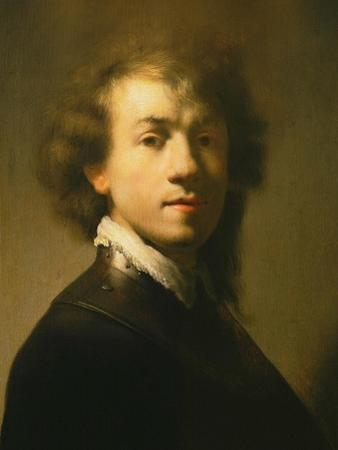 Self Portrait, 1629 by Rembrandt van Rijn