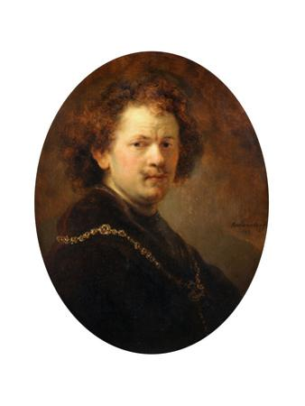 Self Portrait, 1633 by Rembrandt van Rijn