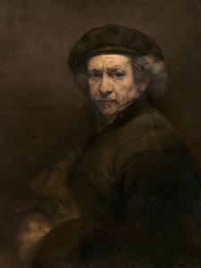 Self-Portrait, 1659 by Rembrandt van Rijn