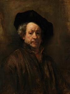 Self-Portrait, 1660 by Rembrandt van Rijn