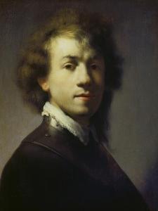 Self Portrait, about 1629 by Rembrandt van Rijn