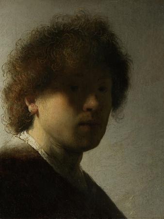Self Portrait as a Young Man, C.1628 by Rembrandt van Rijn