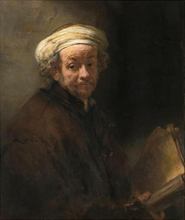 Self-Portrait as the Apostle Paul by Rembrandt van Rijn