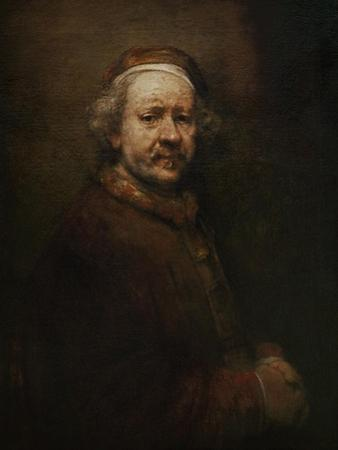 Self Portrait at Old Age, 1669 by Rembrandt van Rijn