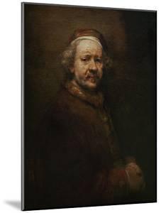 Self Portrait at Old Age, 1669 by Rembrandt van Rijn