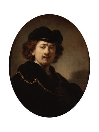 Self-Portrait with a Gold Chain, 1633 by Rembrandt van Rijn