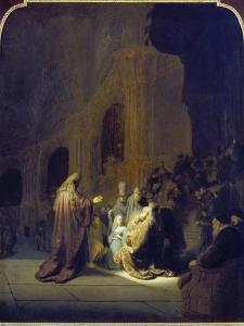 Simeon in the Temple, 1631 by Rembrandt van Rijn