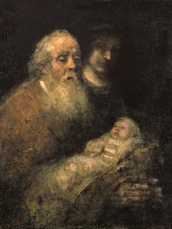 Simeon in the Temple, 1669 by Rembrandt van Rijn