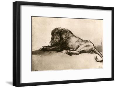 Study of a Lion, 1913
