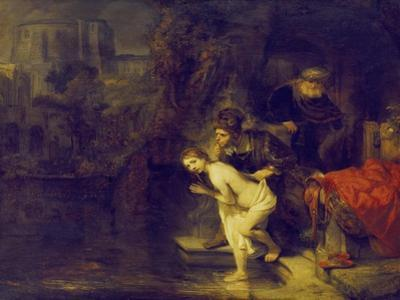 Suzanna and the Two Elders, 1647 by Rembrandt van Rijn