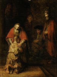 Tall Stand by Rembrandt van Rijn