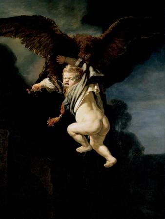 The Abduction of Ganymede, 1635 by Rembrandt van Rijn