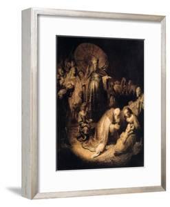 The Adoration of the Magi, 1632 by Rembrandt van Rijn