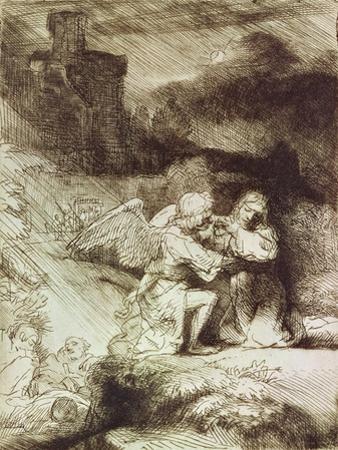 The Agony in the Garden by Rembrandt van Rijn