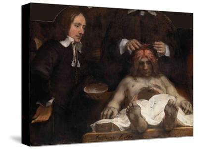 The Anatomy Lesson of Dr. Jan Deijman, 1656 by Rembrandt van Rijn