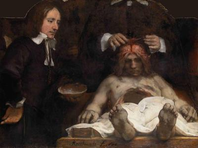 The Anatomy Lesson of Dr. Jan Deijman, 1656 by Rembrandt van Rijn