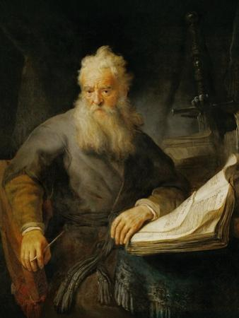 The Apostle Paul, 1633 by Rembrandt van Rijn