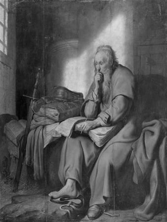 The Apostle Paul in Prison by Rembrandt van Rijn
