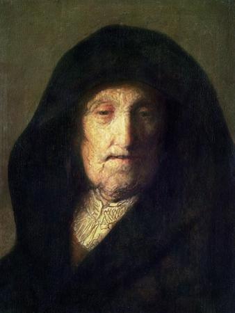 The Artist's Mother by Rembrandt van Rijn