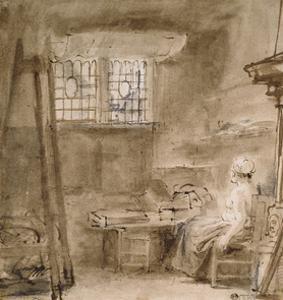 The Artist's Studio by Rembrandt van Rijn