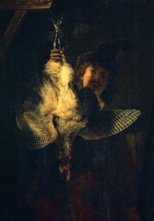 The Bittern Hunter, 1639 by Rembrandt van Rijn
