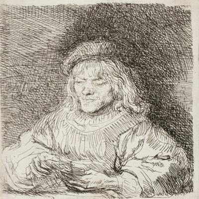 The Card Player, 1641 by Rembrandt van Rijn