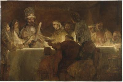 The Conspiracy of the Batavians under Claudius Civilis, c.1666 by Rembrandt van Rijn