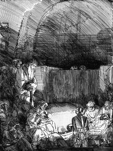'The Entombment', C1654 by Rembrandt van Rijn