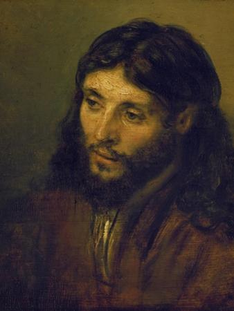 The Head of Christ by Rembrandt van Rijn