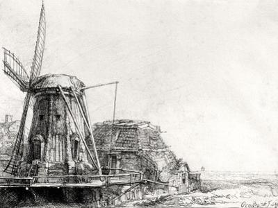 The Mill, 1641 by Rembrandt van Rijn