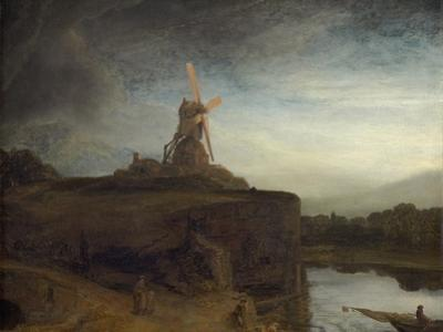 The Mill, 1645- 48 by Rembrandt van Rijn