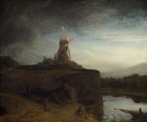 The Mill, C. 1645-48 by Rembrandt van Rijn