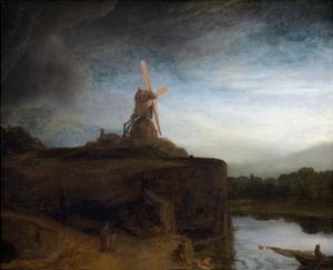 The Mill by Rembrandt van Rijn