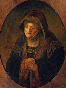 The Mother of the Artist as Prophet Hannah, 1639 by Rembrandt van Rijn